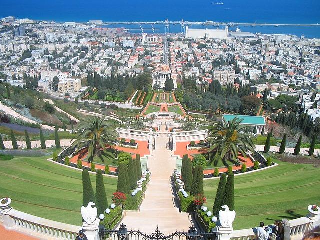 bahai gardens - rashid tours